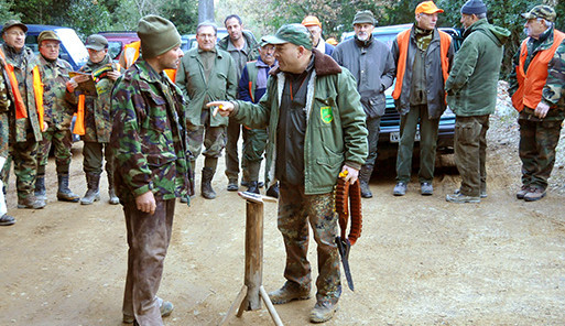 caccia a montaione